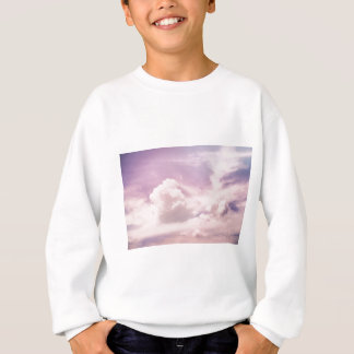 Floating on Fluffy Purple Clouds Sweatshirt