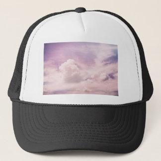 Floating on Fluffy Purple Clouds Trucker Hat