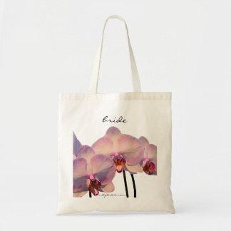 Floating Orchids Bride's Bag