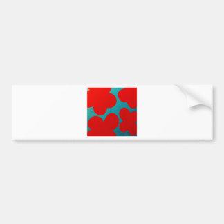 """""""Floating petals"""" Bumper Sticker"""