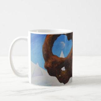 Floating rock & ice - Abstract Mug