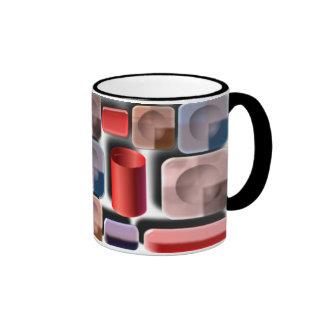 floating shapes mugs