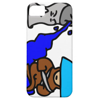 Floating Spray Paint Guy Barely There iPhone 5 Case