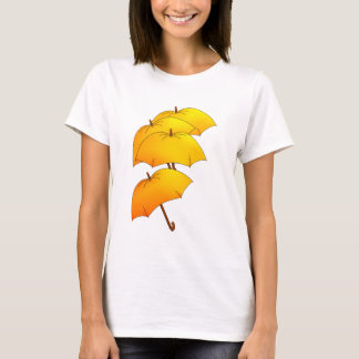 Floating yellow umbrellas T-Shirt