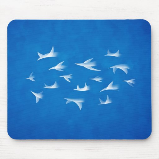Flock Mouse Pad