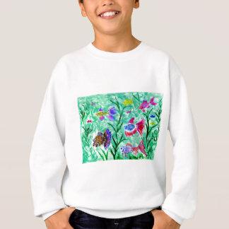 Flock of Fish Art Sweatshirt
