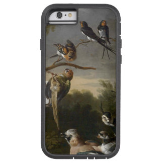 Flock of musical birds painting tough xtreme iPhone 6 case
