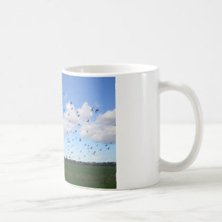Flock Of Pigeons Coffee Mug