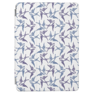 Flock of Sketched Birds iPad Air Cover