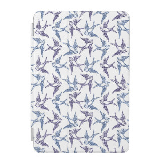 Flock of Sketched Birds iPad Mini Cover