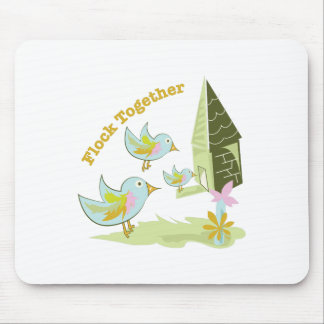Flock Together Mouse Pad
