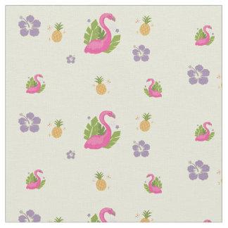 Flocking Flamingo Fabric