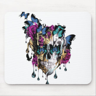 Flomo Skull Mouse Pad