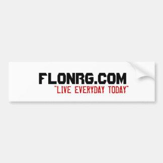 FLoNRG.com Bumper Sticker
