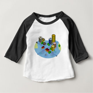 Flooded City Baby T-Shirt