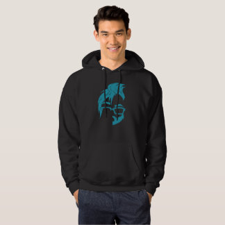 Floof Squad Logo Hoodie (Blue Icon)