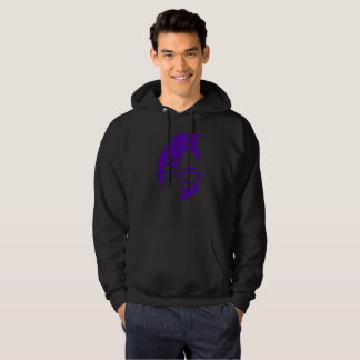 Floof Squad Logo Hoodie (Purple Icon)