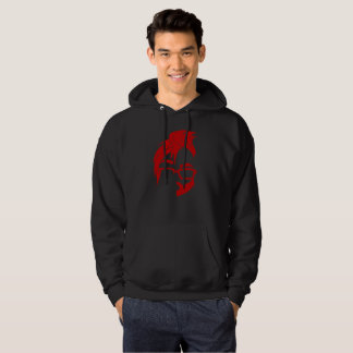 Floof Squad Logo Hoodie (Red Icon)