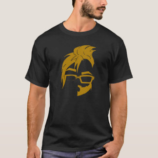 Floof Squad Logo Tee (Gold Icon)