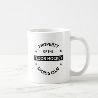 Floor Hockey Basic White Mug