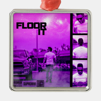 Floor It Cover Metal Ornament