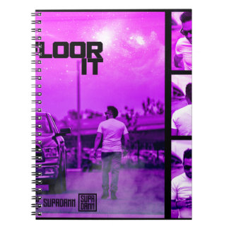 Floor It Cover Notebooks