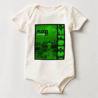 Floor It Instrumentals Cover Baby Bodysuit