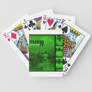 Floor It Instrumentals Cover Bicycle Playing Cards