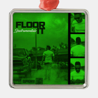 Floor It Instrumentals Cover Metal Ornament