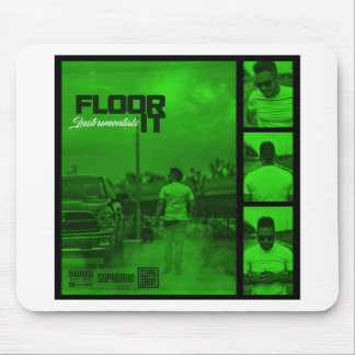 Floor It Instrumentals Cover Mouse Pad