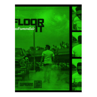 Floor It Instrumentals Cover Postcard