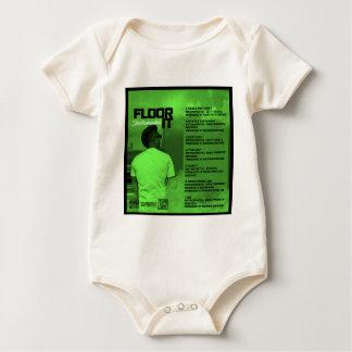 Floor It Instrumentals Reverse Baby Bodysuit