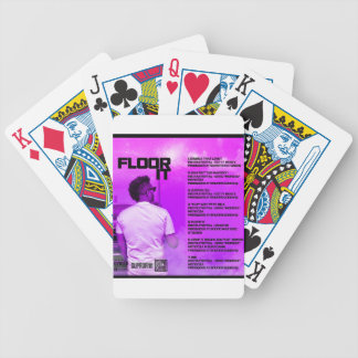 Floor It Reverse Bicycle Playing Cards