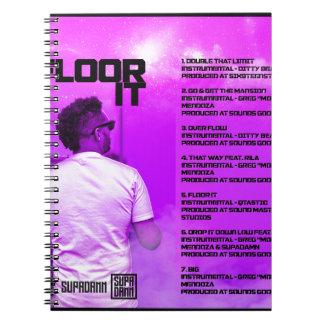 Floor It Reverse Notebook