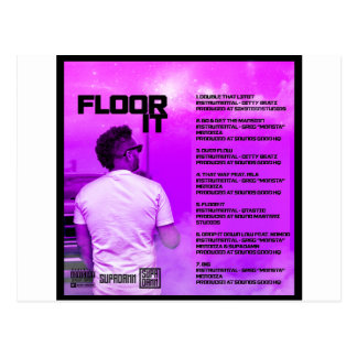 Floor It Reverse Postcard