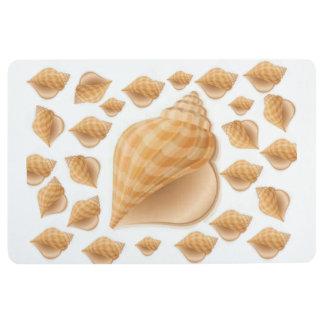 Floor Mat Seashells