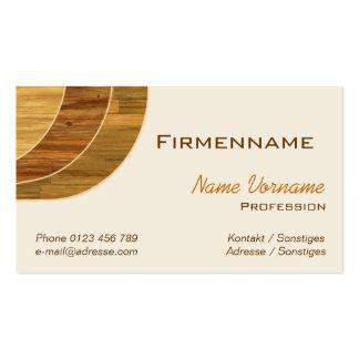 Floor publisher pack of standard business cards