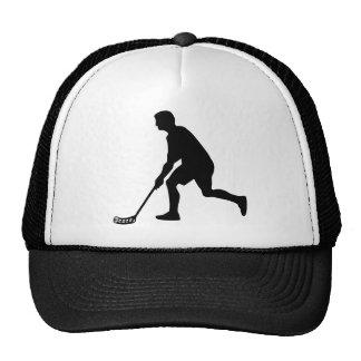 Floorball Player Trucker Hat