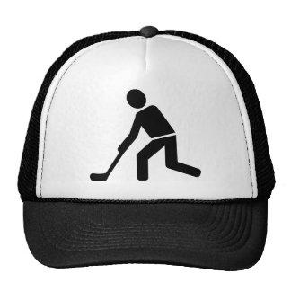 Floorball Player Mesh Hat