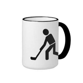 Floorball Player Coffee Mugs