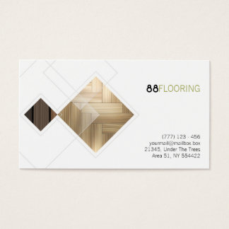 flooring business card