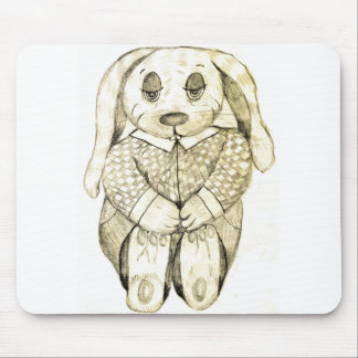 Flop Eared Bunny Mousepads