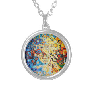 Flopping Fish Designs ™ Silver Plated Necklace