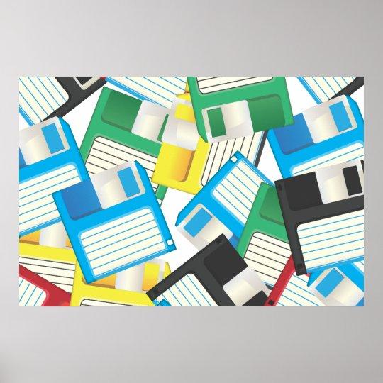 Floppy Discs Poster