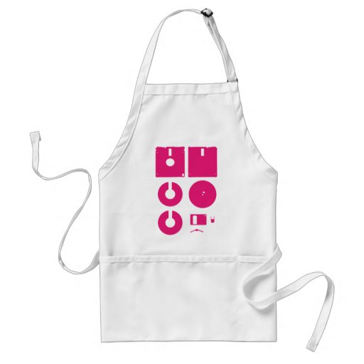 Floppy Disk Deconstructed 1.44in Apron