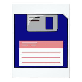 Floppy Disk Invitations