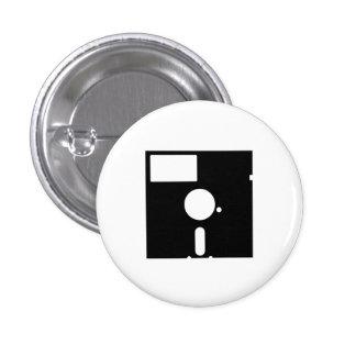 Floppy Disk Pictogram Button