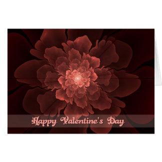 Flor de Amor Valentine Card