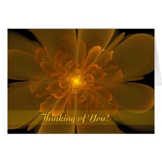 Flor de la Alegría Thinking of You Card