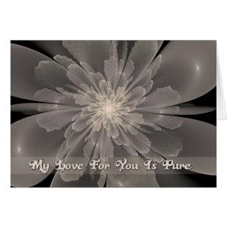 Flor de la Pureza My Love Card